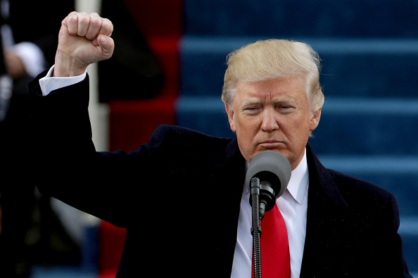 Presidential Inauguration「Donald Trump Is Sworn In As 45th President Of The United States」:写真・画像(8)[壁紙.com]