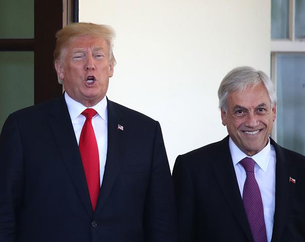 Sebastián Piñera「President Trump Hosts Chilean President Sebastian Pinera At The White House」:写真・画像(9)[壁紙.com]