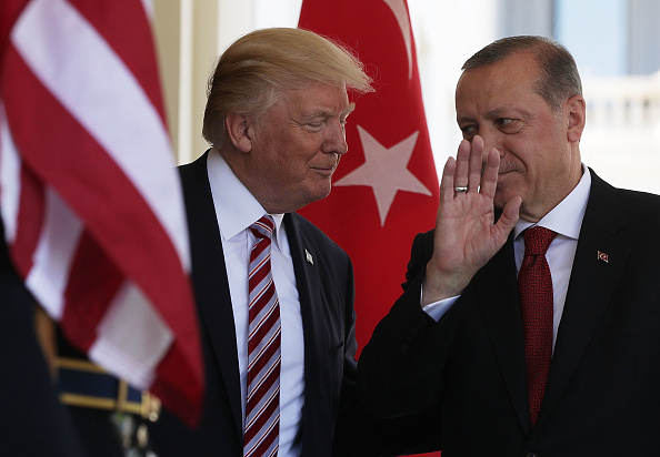 US President「President Trump Hosts Turkey's President Erdogan At The White House」:写真・画像(0)[壁紙.com]