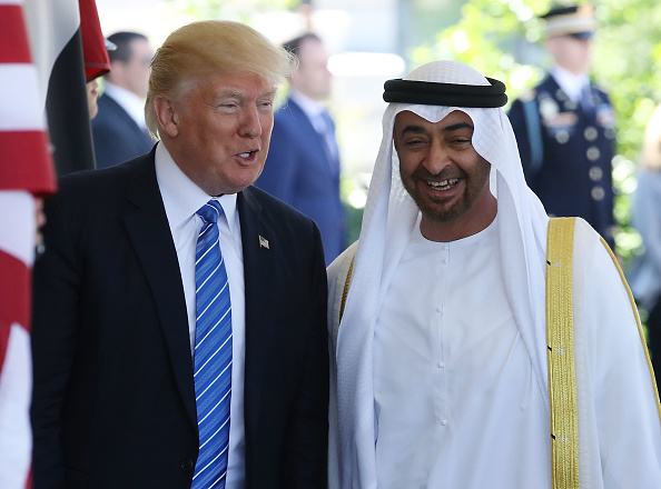 Persian Gulf Countries「President Trump Hosts Crown Prince Of Abu Dhabi At The White House」:写真・画像(9)[壁紙.com]