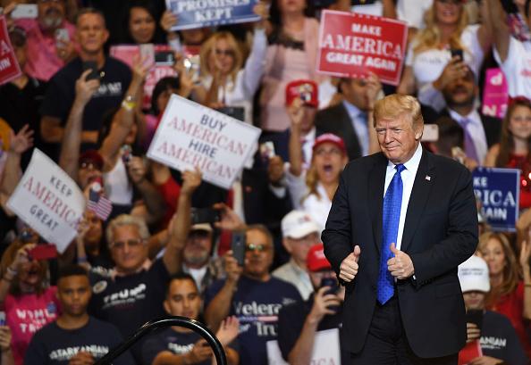 MAGA「President Trump Holds MAGA Rally In Las Vegas」:写真・画像(1)[壁紙.com]