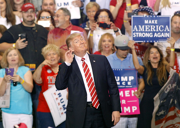 Arizona「President Trump Holds Rally In Phoenix, Arizona」:写真・画像(5)[壁紙.com]