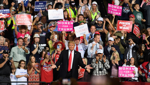"MAGA「Donald Trump Holds ""Make America Great Again"" Rally In West Virginia」:写真・画像(13)[壁紙.com]"