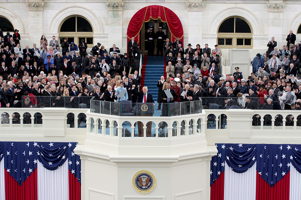 Speech「Donald Trump Is Sworn In As 45th President Of The United States」:写真・画像(4)[壁紙.com]