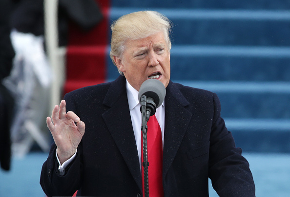 Speech「Donald Trump Is Sworn In As 45th President Of The United States」:写真・画像(10)[壁紙.com]