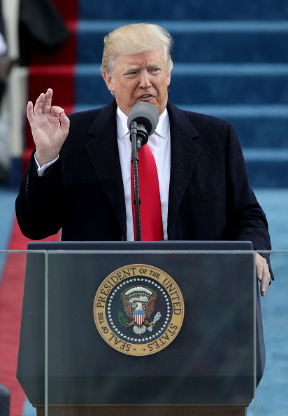 Speech「Donald Trump Is Sworn In As 45th President Of The United States」:写真・画像(11)[壁紙.com]
