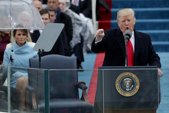 Speech「Donald Trump Is Sworn In As 45th President Of The United States」:写真・画像(9)[壁紙.com]