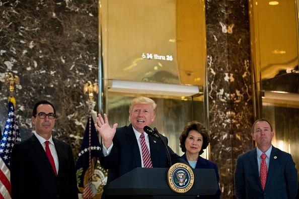 アメリカ合州国「President Trump Speaks On Infrastructure Meeting Held At Trump Tower」:写真・画像(17)[壁紙.com]