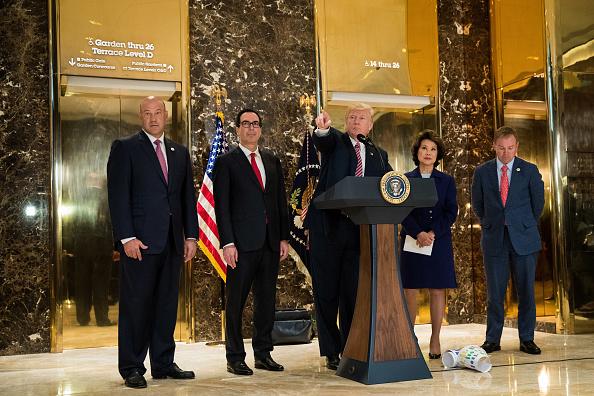 アメリカ合州国「President Trump Speaks On Infrastructure Meeting Held At Trump Tower」:写真・画像(16)[壁紙.com]