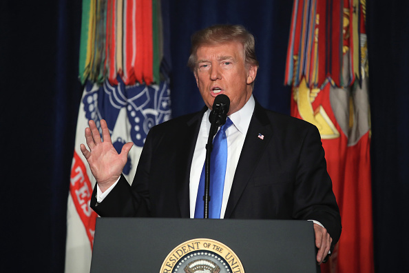 USA「President Trump Addresses The Nation On Strategy In Afghanistan And South Asia From Fort Myer In Arlington」:写真・画像(0)[壁紙.com]