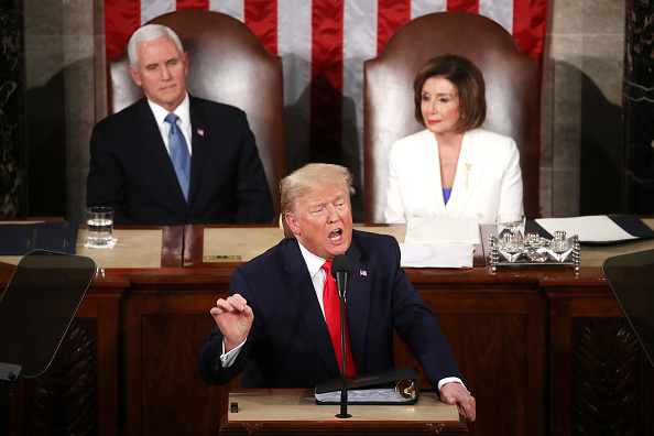 US State Of The Union Address「President Trump Gives State Of The Union Address」:写真・画像(7)[壁紙.com]