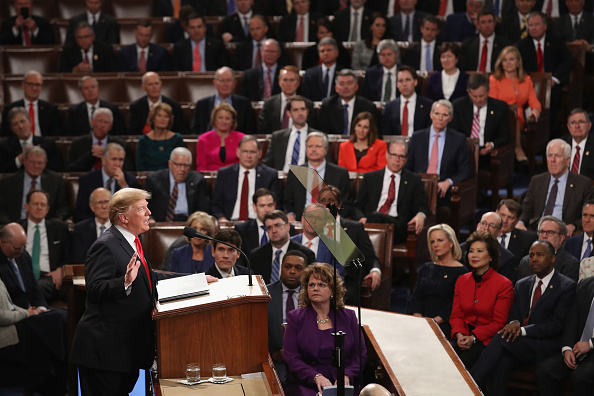 United States Congress「President Trump Delivers State Of The Union Address To Joint Session Of Congress」:写真・画像(16)[壁紙.com]