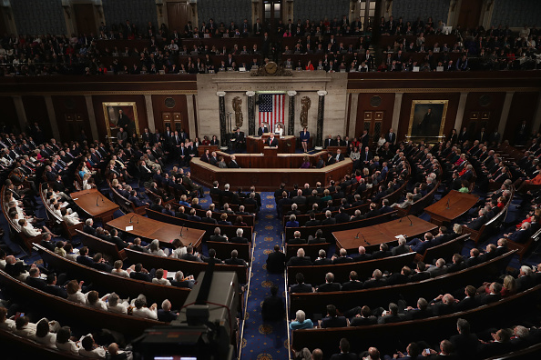 House Of Representatives「President Trump Delivers State Of The Union Address To Joint Session Of Congress」:写真・画像(17)[壁紙.com]