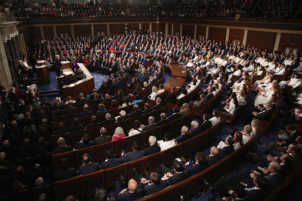 United States Congress「President Trump Delivers State Of The Union Address To Joint Session Of Congress」:写真・画像(11)[壁紙.com]