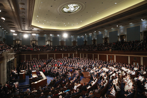 United States Congress「President Trump Delivers State Of The Union Address To Joint Session Of Congress」:写真・画像(7)[壁紙.com]