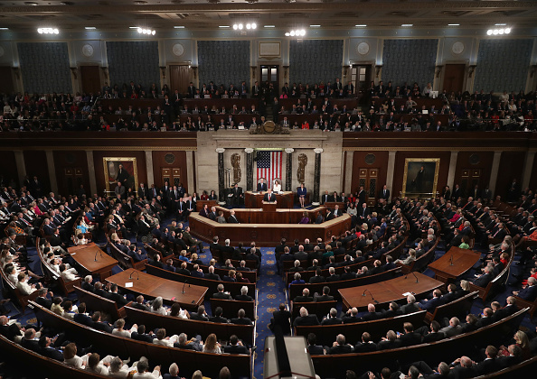 Politics「President Trump Delivers State Of The Union Address To Joint Session Of Congress」:写真・画像(19)[壁紙.com]