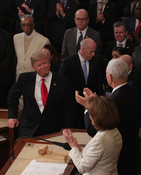 Manufactured Object「President Trump Delivers State Of The Union Address To Joint Session Of Congress」:写真・画像(19)[壁紙.com]