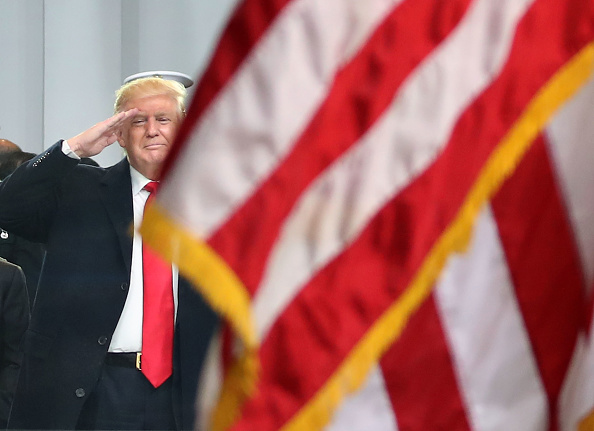 Flag「Parade Celebrates Presidential Inauguration Of Donald Trump」:写真・画像(10)[壁紙.com]
