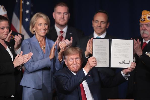 Disability「President Trump Addresses American Veterans 75th National Convention」:写真・画像(5)[壁紙.com]