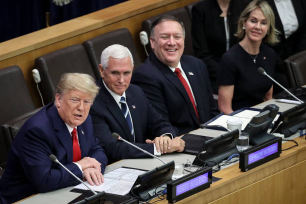 President Trump Addresses Meeting On Religious Freedom At The United Nations:ニュース(壁紙.com)