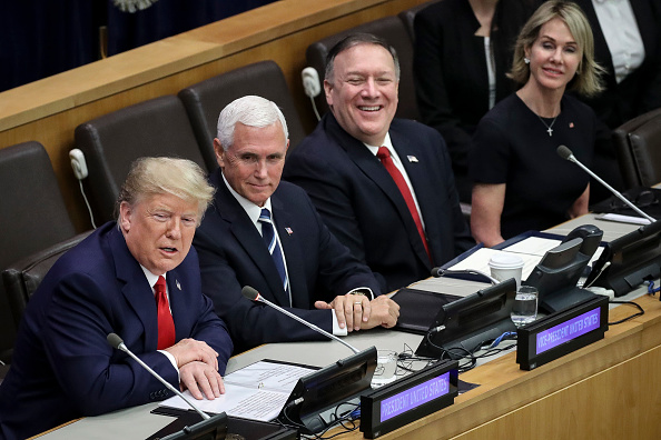 Religion「President Trump Addresses Meeting On Religious Freedom At The United Nations」:写真・画像(5)[壁紙.com]