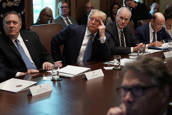 Wilbur Ross「President Trump Holds A Cabinet Meeting At The White House」:写真・画像(8)[壁紙.com]
