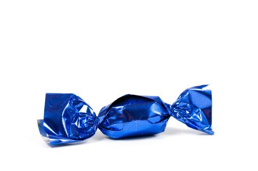 Hard Candy「candy bonbon rolled into glittering blue aluminium foil」:スマホ壁紙(17)