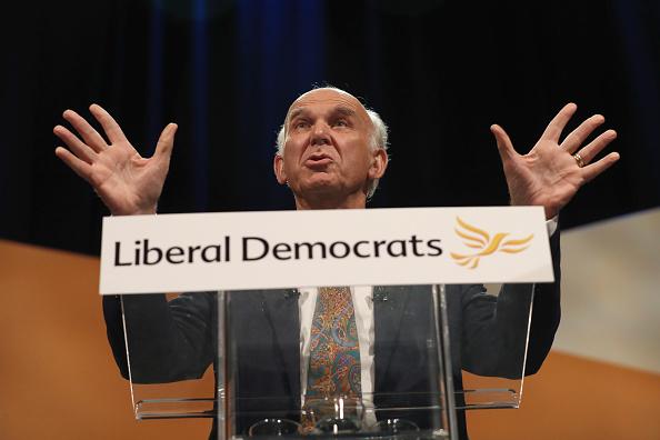 UK「Liberal Democrat Leader Sir Vince Cable Speaks At Their Autumn Conference」:写真・画像(8)[壁紙.com]