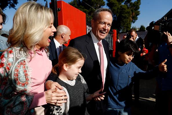 Bill Shorten「Prime Ministerial Candidates Vote On Election Day」:写真・画像(18)[壁紙.com]