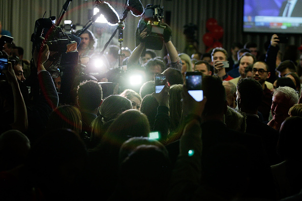 Moonee Valley Racecourse「Hung Parliament Looms With Federal Election Results Too Close To Call」:写真・画像(17)[壁紙.com]