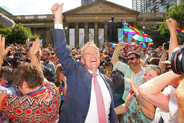 Melbourne - Australia「Australians Gather To Hear Result Of Marriage Equality Survey」:写真・画像(15)[壁紙.com]