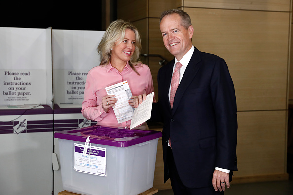 Bill Shorten「Prime Ministerial Candidates Vote On Election Day」:写真・画像(19)[壁紙.com]