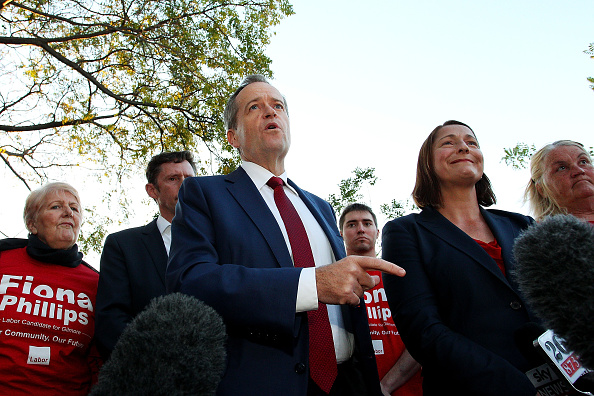 Fiona Phillips「Bill Shorten Campaigns In Nowra」:写真・画像(1)[壁紙.com]
