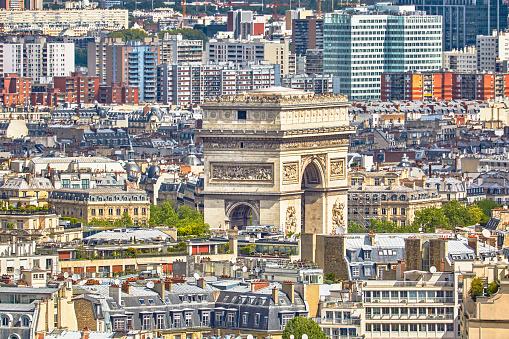 Arc de Triomphe - Paris「View Of Arc De Triomphe, Paris」:スマホ壁紙(18)