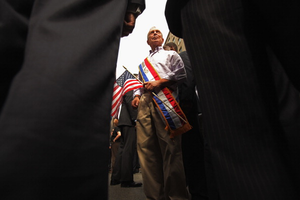911 Remembrance「Labor Day March Held In New York City Amid Sept. 11th Anniversary Remembrances」:写真・画像(8)[壁紙.com]