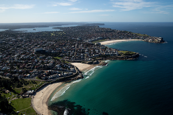 Aircraft Point of View「Aerial Views Of Sydney As Australia Sees Steady Decline In New Coronavirus Cases」:写真・画像(6)[壁紙.com]