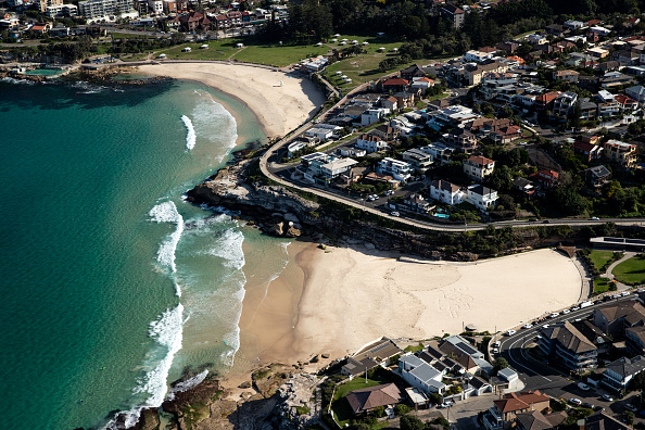 Aircraft Point of View「Aerial Views Of Sydney As Australia Sees Steady Decline In New Coronavirus Cases」:写真・画像(7)[壁紙.com]