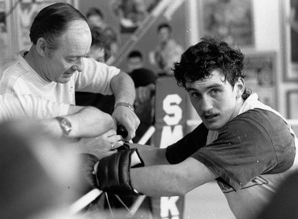 Barry McGuigan「McGuigan And Trainer」:写真・画像(11)[壁紙.com]