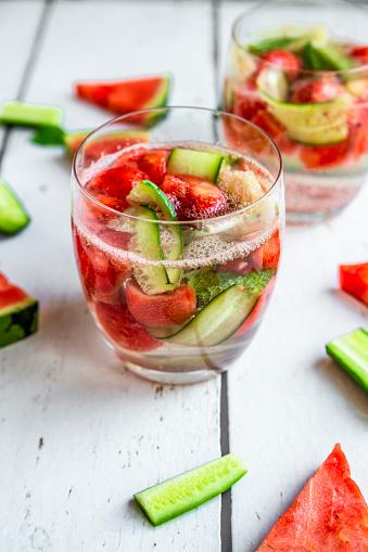 スイカ「Melon cucumber water, detox」:スマホ壁紙(3)