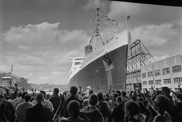Ship「RMS Queen Mary」:写真・画像(14)[壁紙.com]