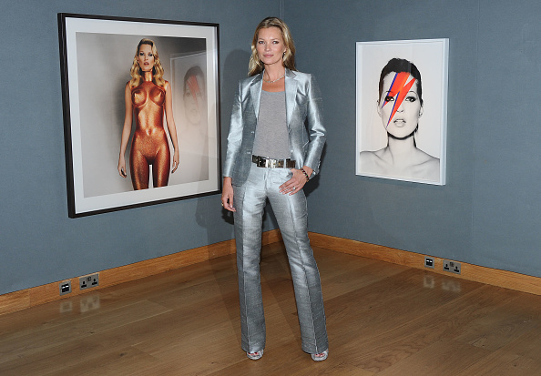 Silver Colored「Kate Moss The Collection - Photocall」:写真・画像(1)[壁紙.com]