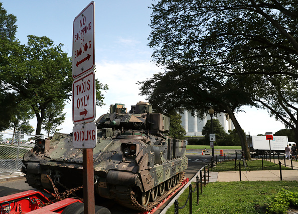 Armored Tank「Washington Prepares For President Trump's Speech On The Fourth Of July」:写真・画像(2)[壁紙.com]