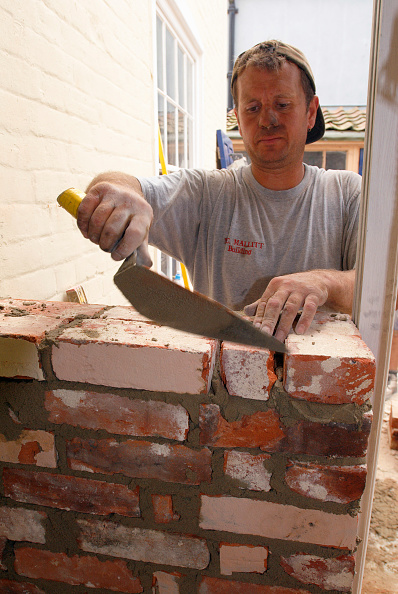 Brick Wall「Bricklaying at house, UK」:写真・画像(8)[壁紙.com]