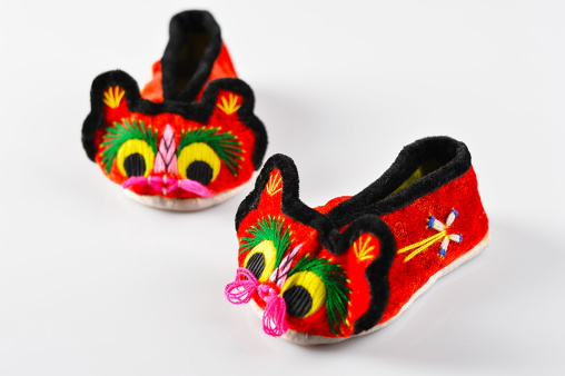 Embroidery「Tiger-head shoes」:スマホ壁紙(4)