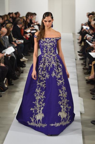 Purple「Oscar De La Renta - Runway - Fall 2013 Mercedes-Benz Fashion Week」:写真・画像(19)[壁紙.com]