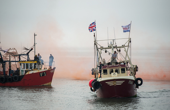 Fisherman「Fishing For Leave To Protest Brexit Deal」:写真・画像(0)[壁紙.com]