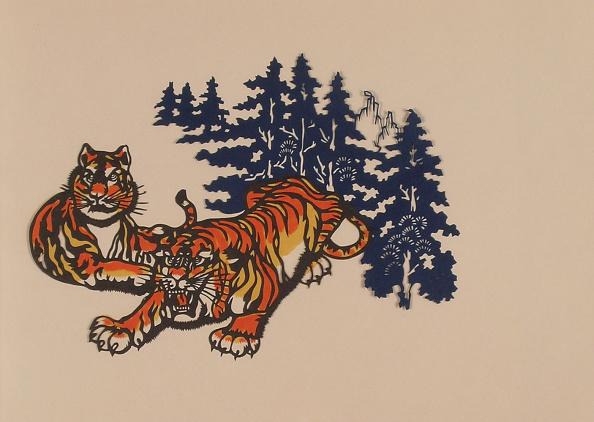 Dye「Paper-cuts with tiger theme」:写真・画像(19)[壁紙.com]