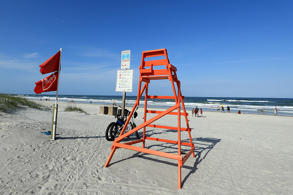 Jacksonville Beach「Jacksonville, Florida Re-Opens Beaches After Decrease In COVID-19 Cases」:写真・画像(18)[壁紙.com]