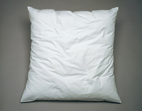 Gray Background「White pillow on general gray background」:スマホ壁紙(18)
