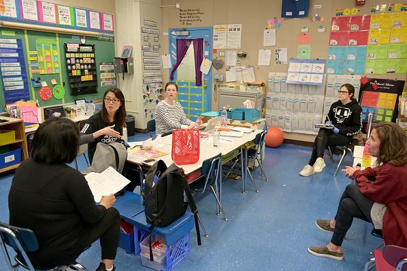 Conference Phone「New York City School Prepares For Long Shutdown Due To Coronavirus Outbreak」:写真・画像(0)[壁紙.com]